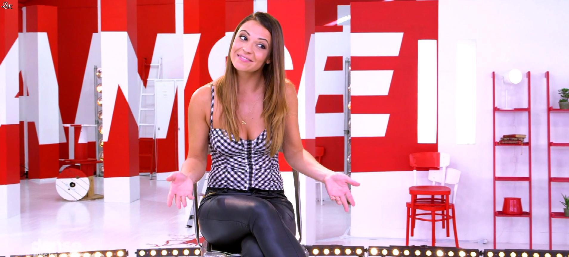 Denitsa Ikonomova dans Danse avec les Stars. Diffusé à la télévision le 14/10/17.