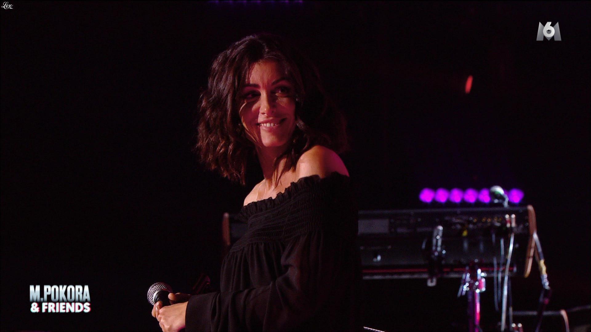 Jenifer Bartoli dans m'Pokora n'Friends. Diffusé à la télévision le 18/12/17.
