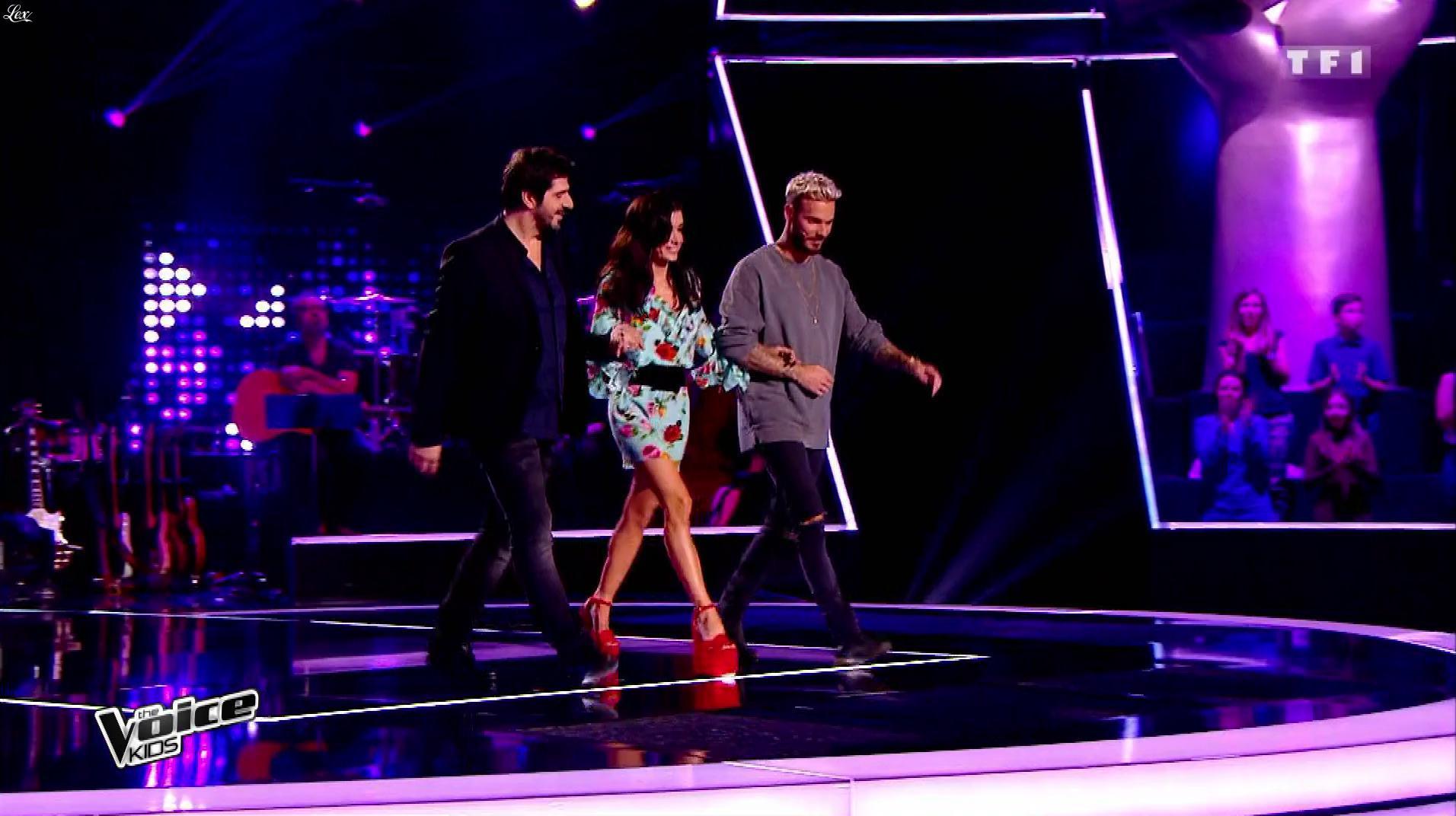 Jenifer Bartoli dans The Voice Kids. Diffusé à la télévision le 26/08/17.