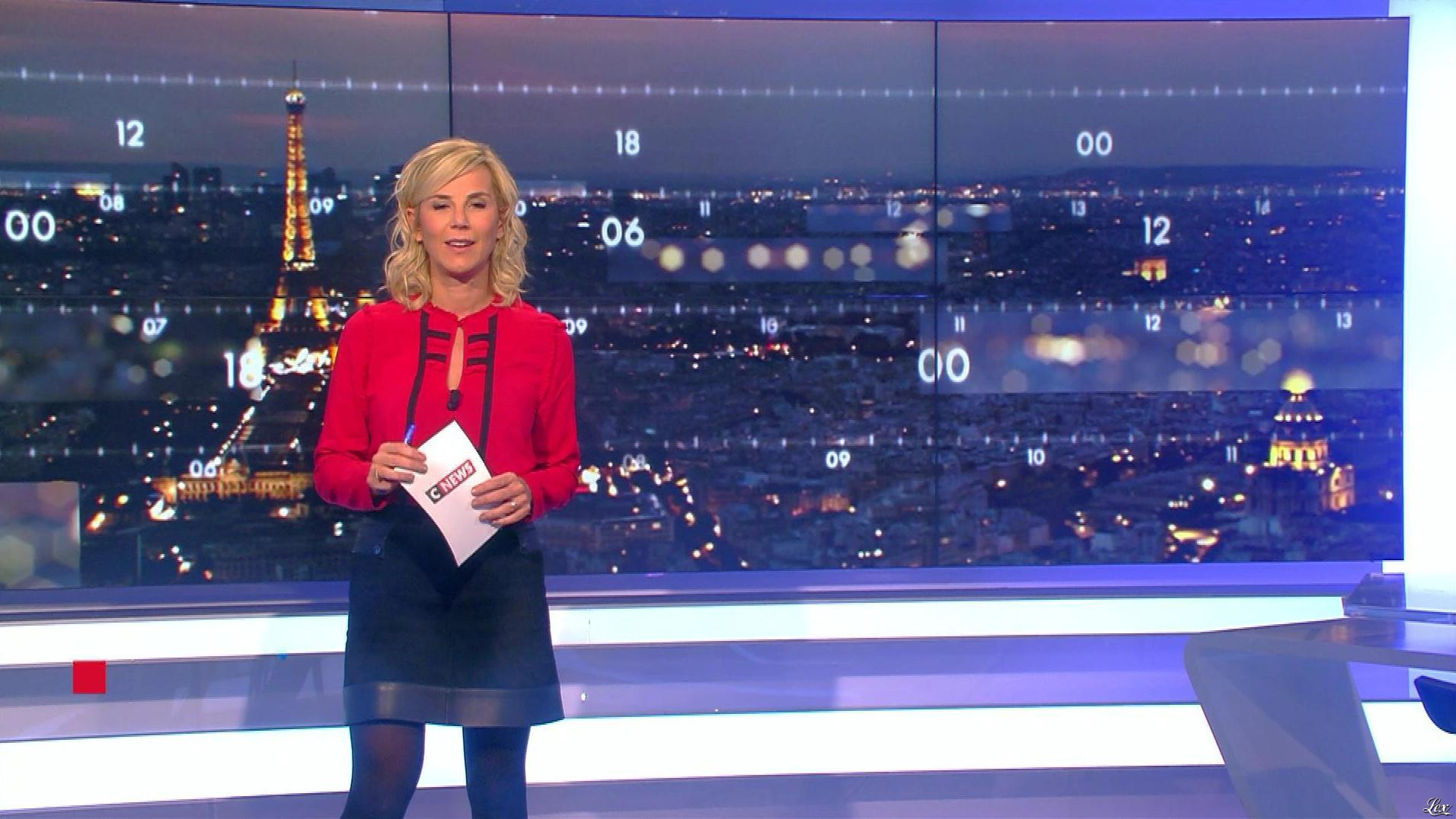 Laurence Ferrari dans Punchline. Diffusé à la télévision le 05/12/17.