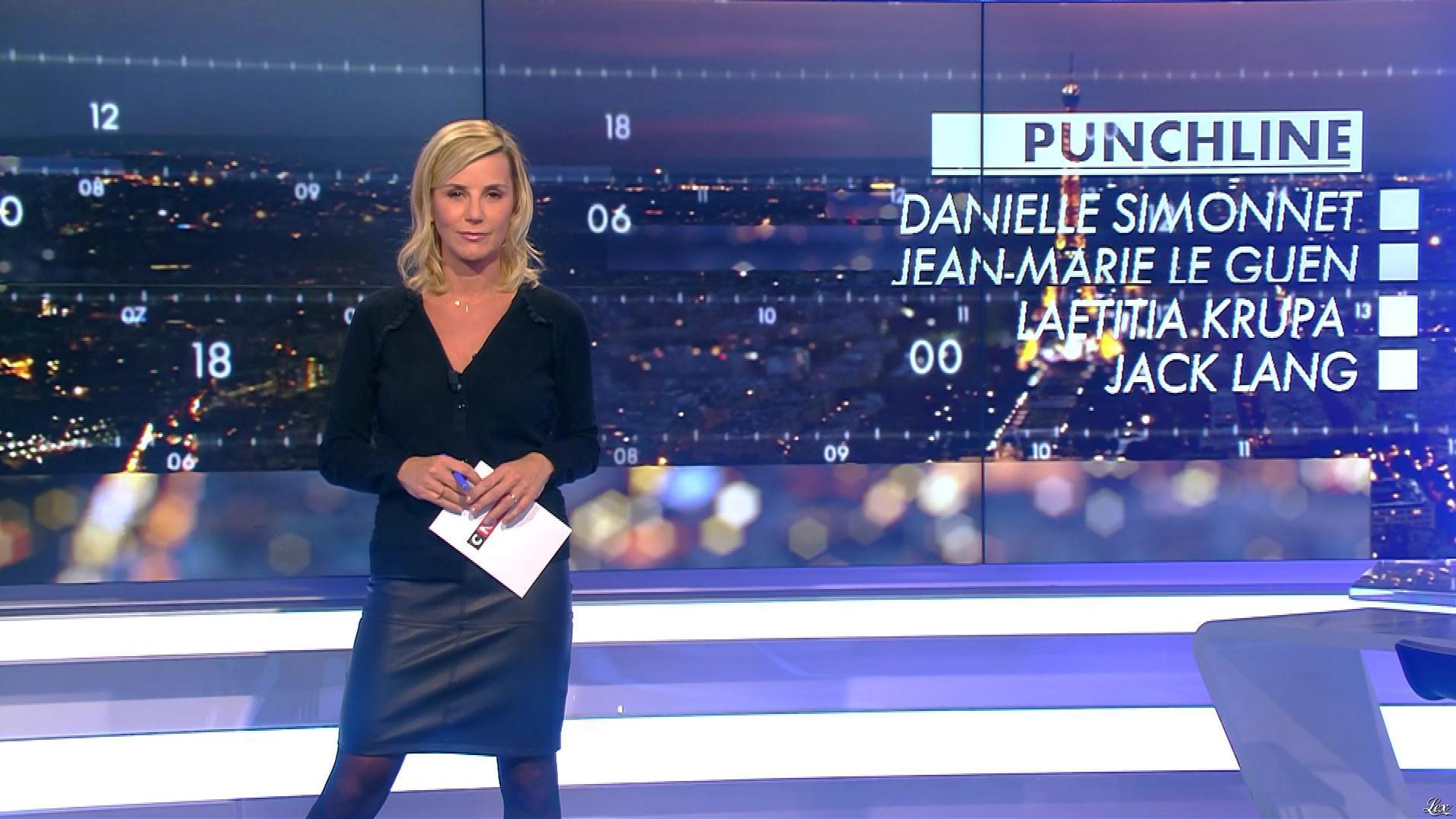 Laurence Ferrari dans Punchline. Diffusé à la télévision le 30/11/17.