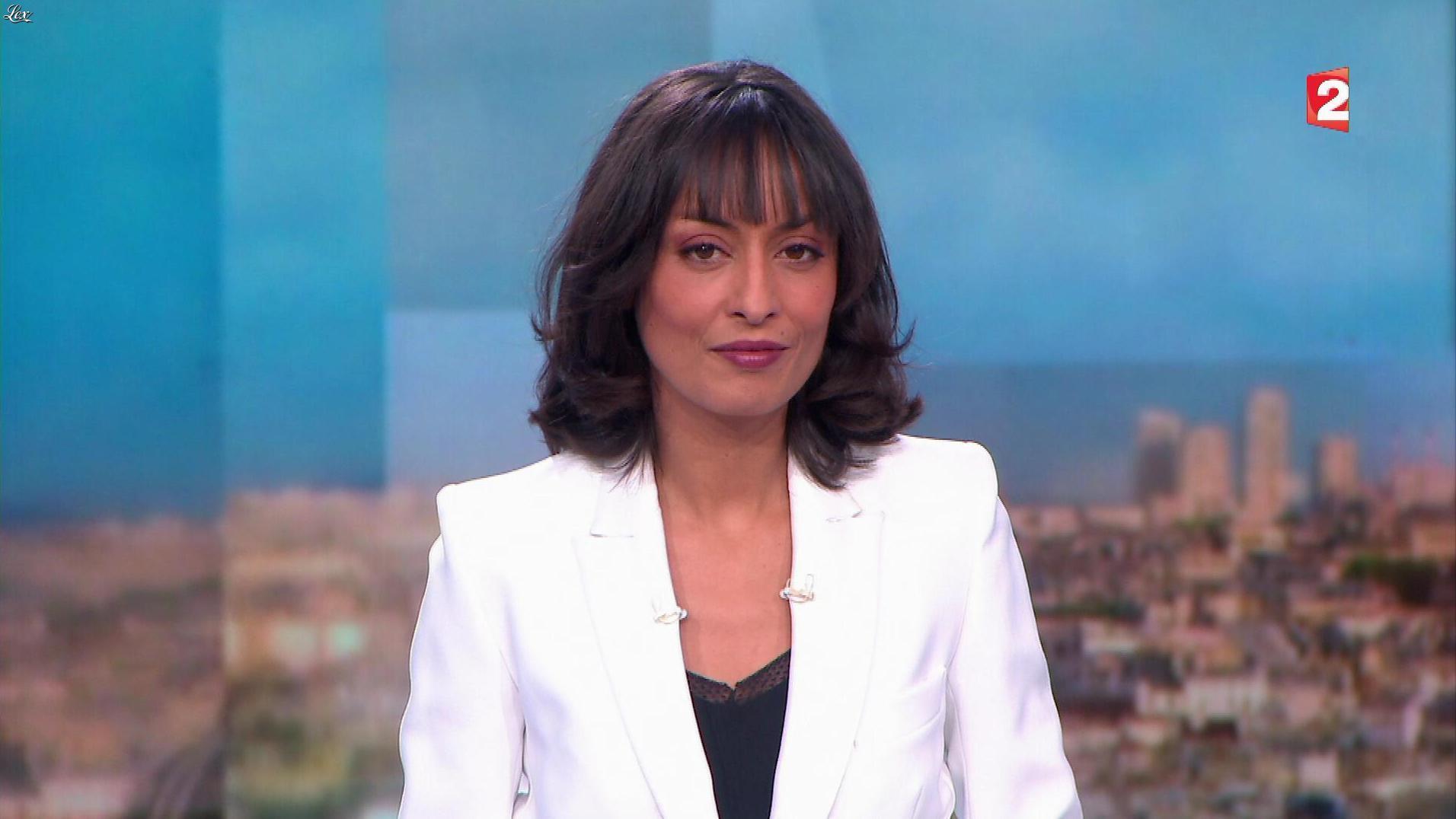 Leïla Kaddour dans le 13h. Diffusé à la télévision le 02/12/17.