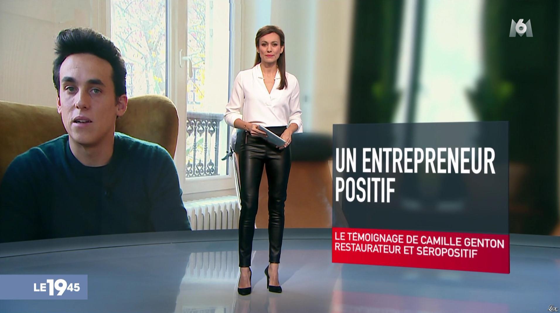 Marie-Ange Casalta dans le 19-45. Diffusé à la télévision le 01/12/17.