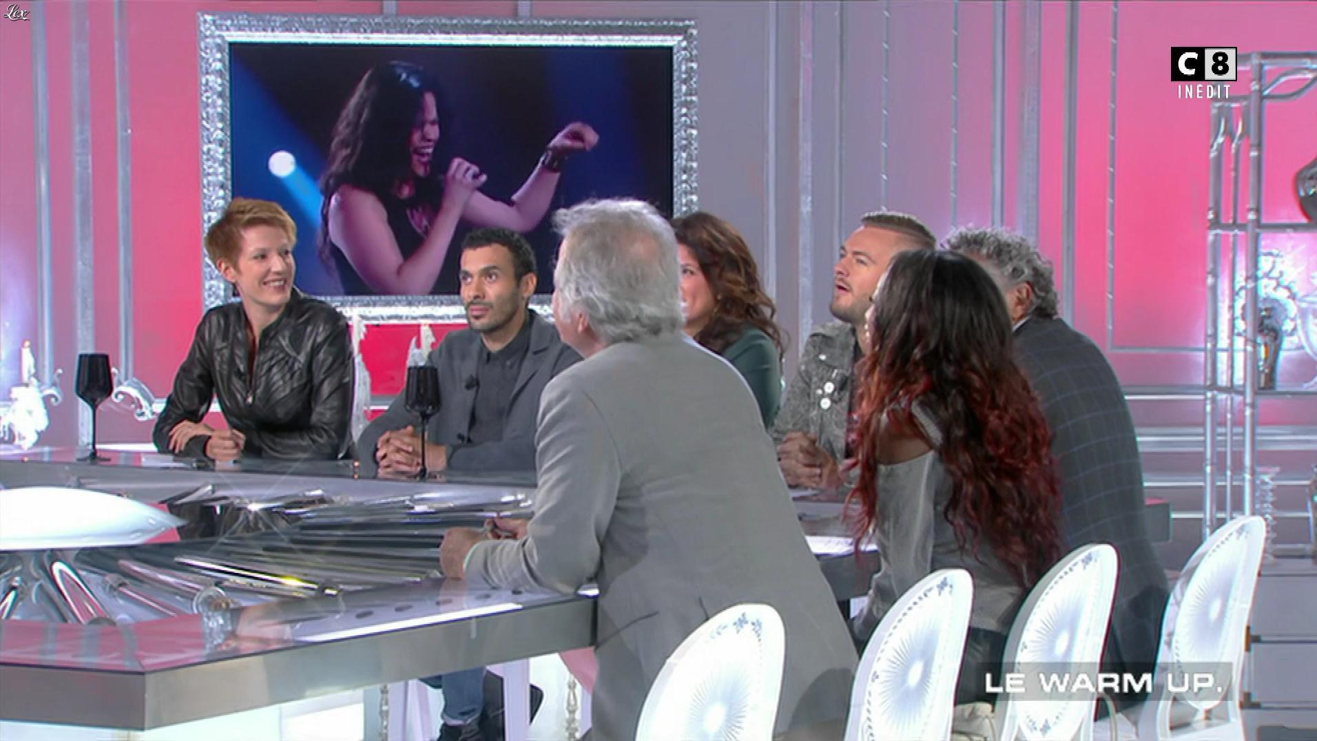 Natacha Polony et Hapsatou Sy dans les Terriens du Dimanche. Diffusé à la télévision le 17/09/17.