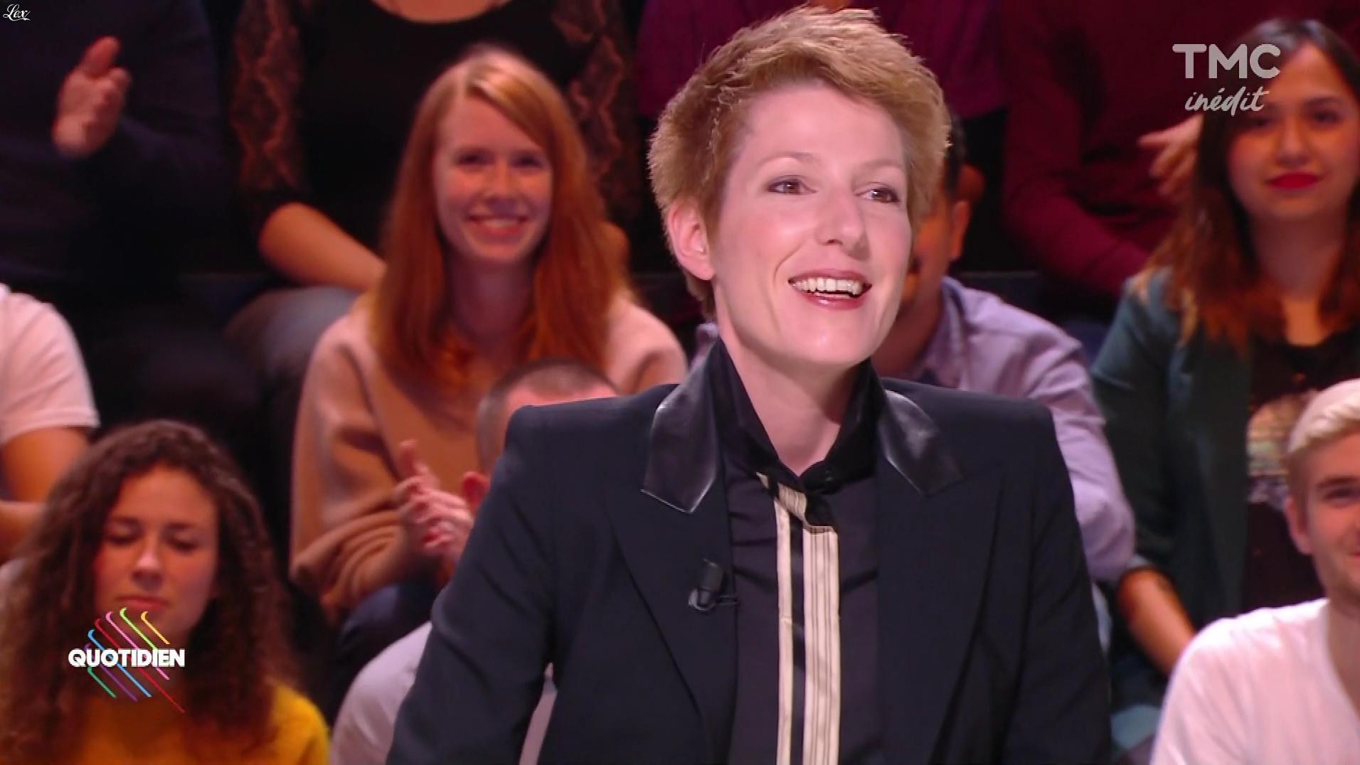 Natacha Polony dans Quotidien. Diffusé à la télévision le 24/10/17.