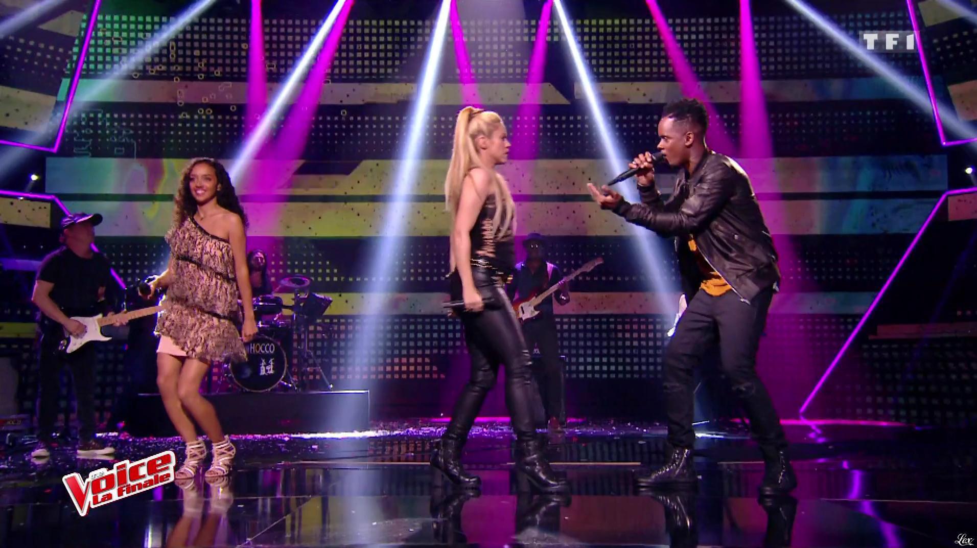 Shakira dans The Voice. Diffusé à la télévision le 10/06/17.