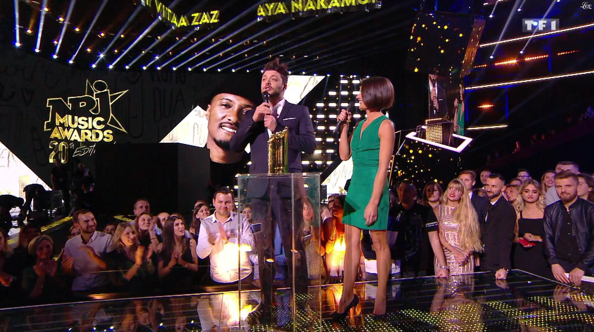 Alessandra Sublet dans NRJ Music Awards. Diffusé à la télévision le 10/11/18.