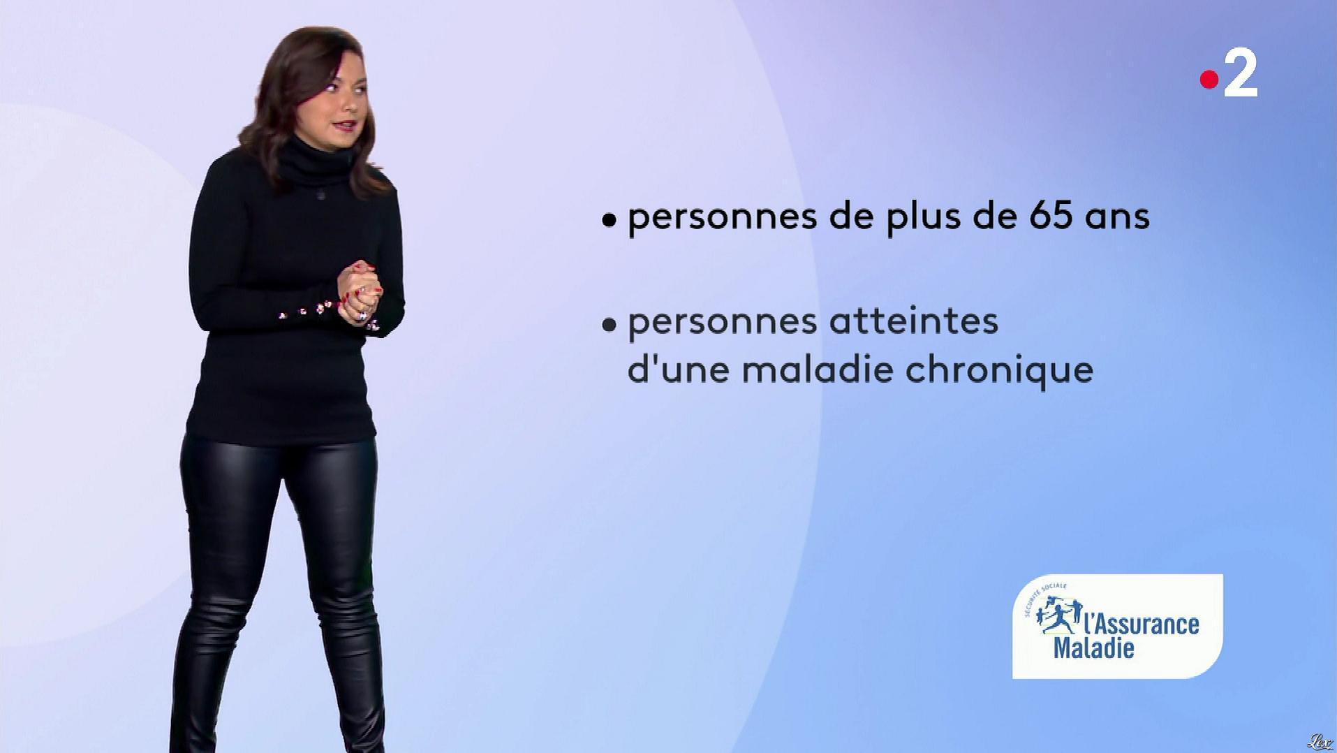 Anaïs Baydemir à la Météo de Midi. Diffusé à la télévision le 28/11/18.