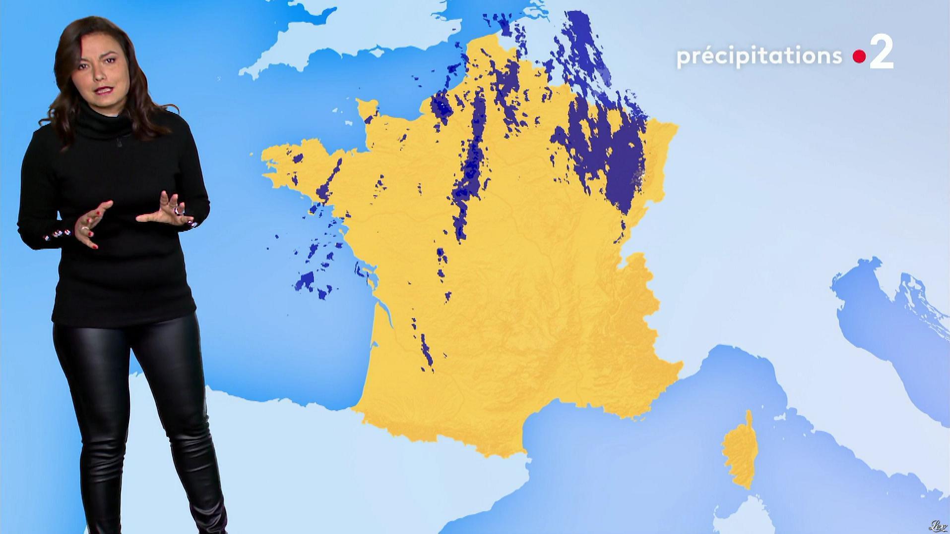 Anais Baydemir à la Météo de Midi. Diffusé à la télévision le 28/11/18.
