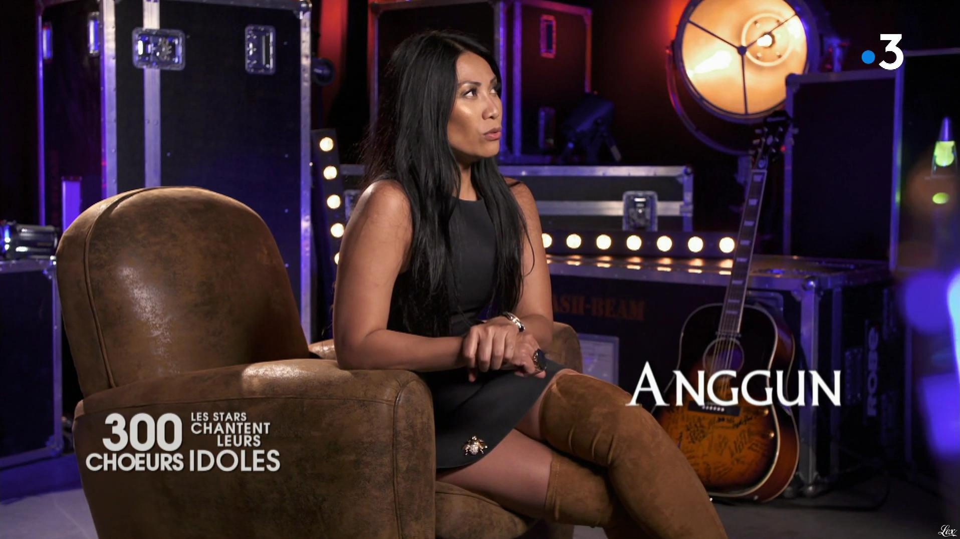 Anggun dans 300 Chœurs. Diffusé à la télévision le 02/11/18.