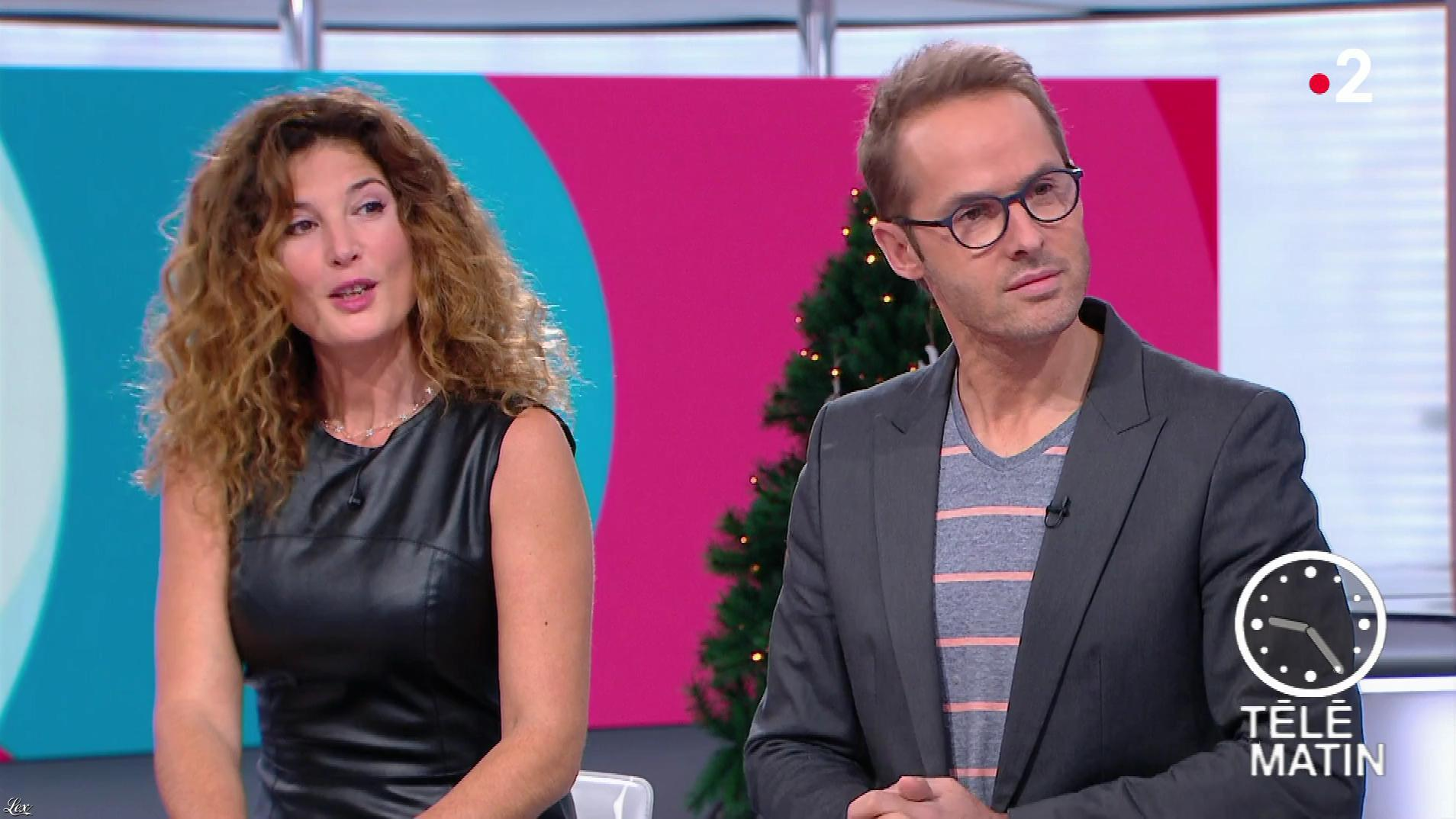 Aurelia Bloch dans Télématin. Diffusé à la télévision le 10/12/18.