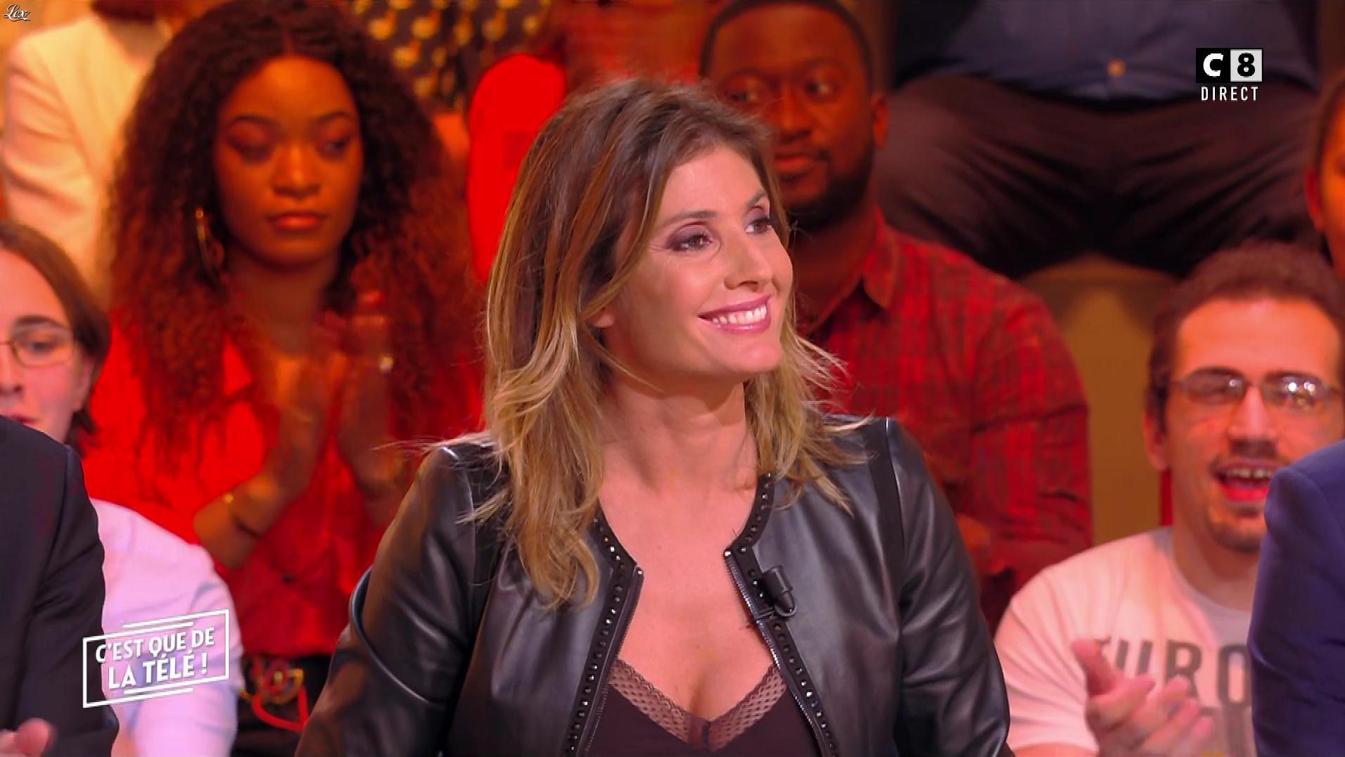 Caroline Ithurbide dans c'est Que de la Télé. Diffusé à la télévision le 12/11/18.