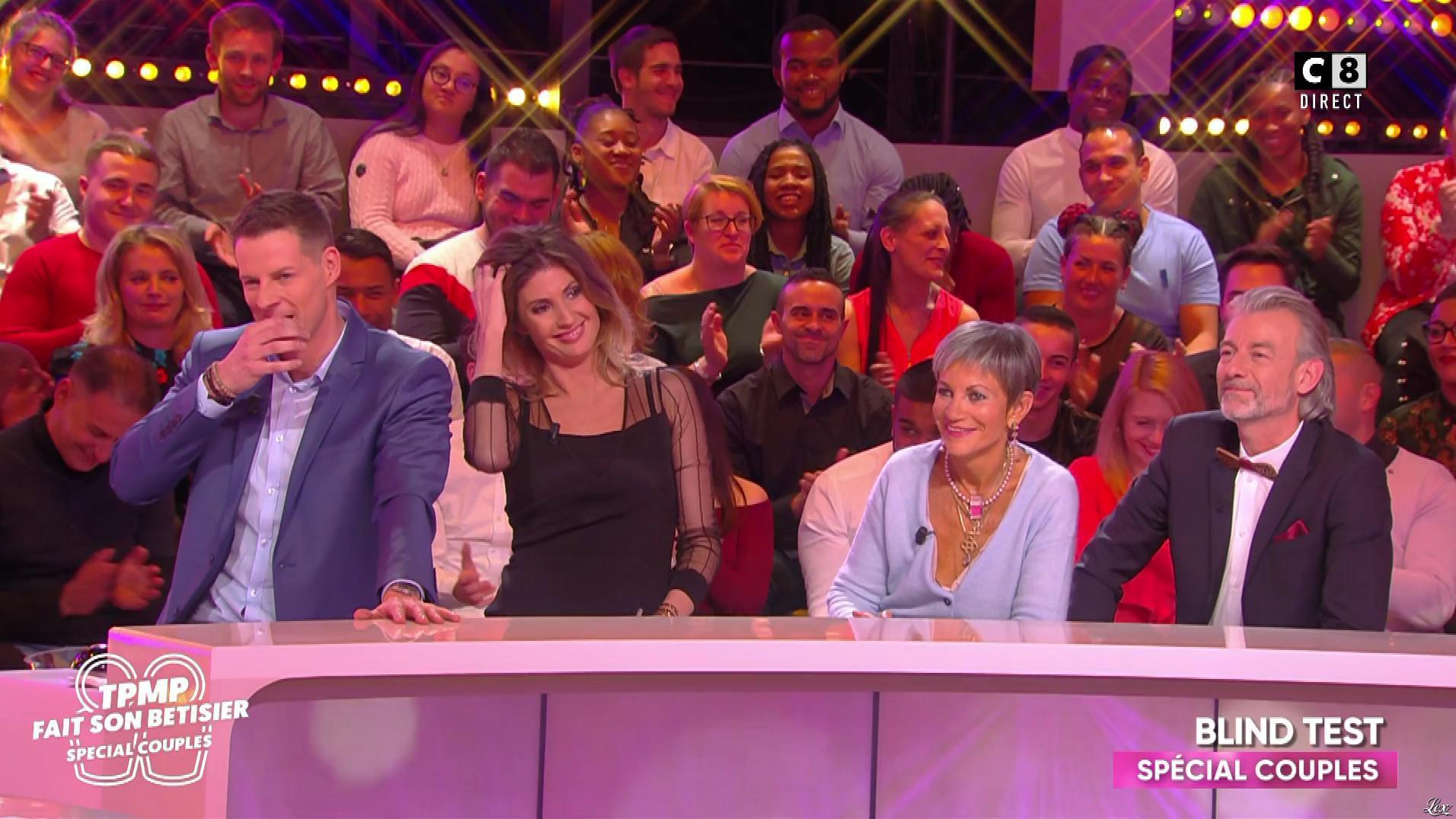 Caroline Ithurbide dans TPMP Fait son Bêtisier. Diffusé à la télévision le 16/11/18.