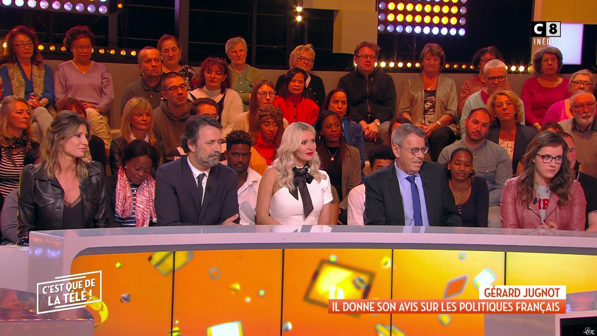 Caroline Ithurbide et Tatiana Laurens Delarue dans c'est Que de la Télé. Diffusé à la télévision le 02/11/18.