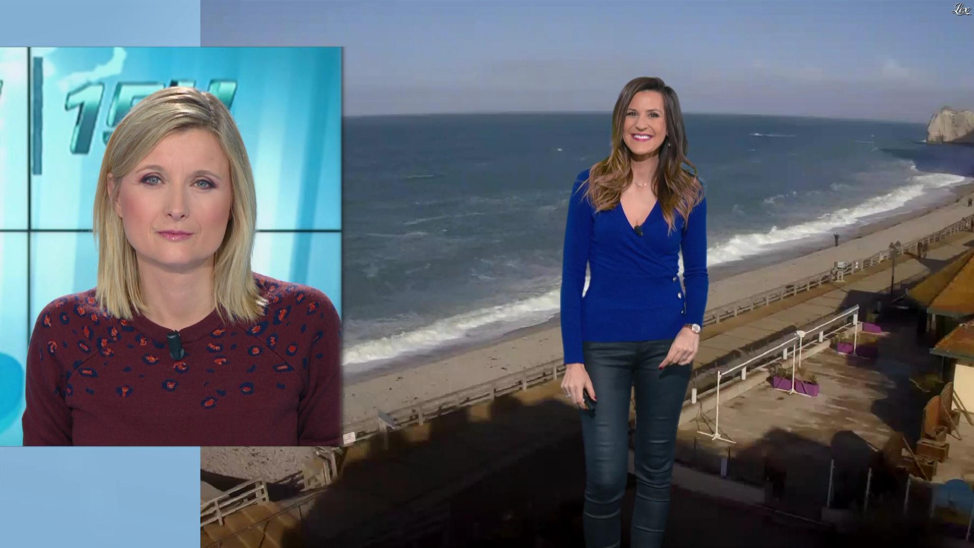 Daniela Prepeliuc à la Météo de BFM TV. Diffusé à la télévision le 13/11/18.