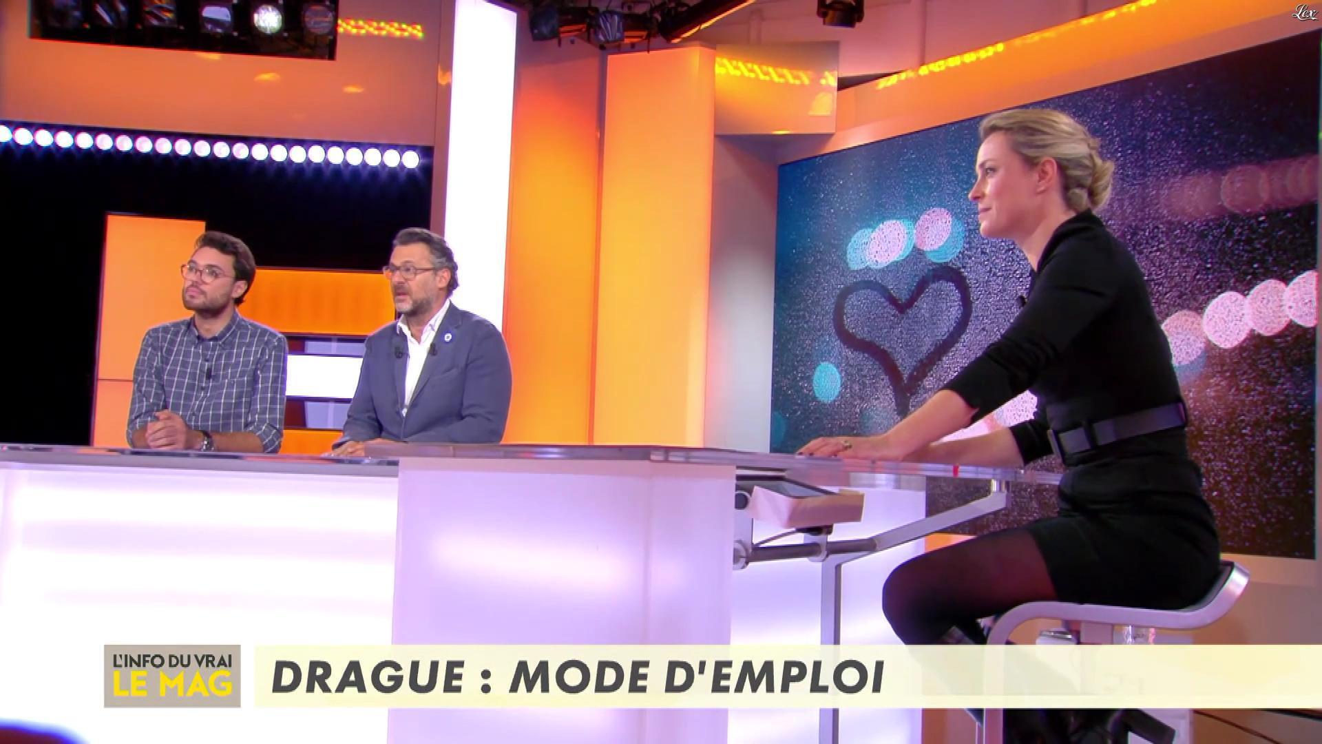 Isabelle Moreau dans l'Info du Vrai le Mag. Diffusé à la télévision le 07/11/18.
