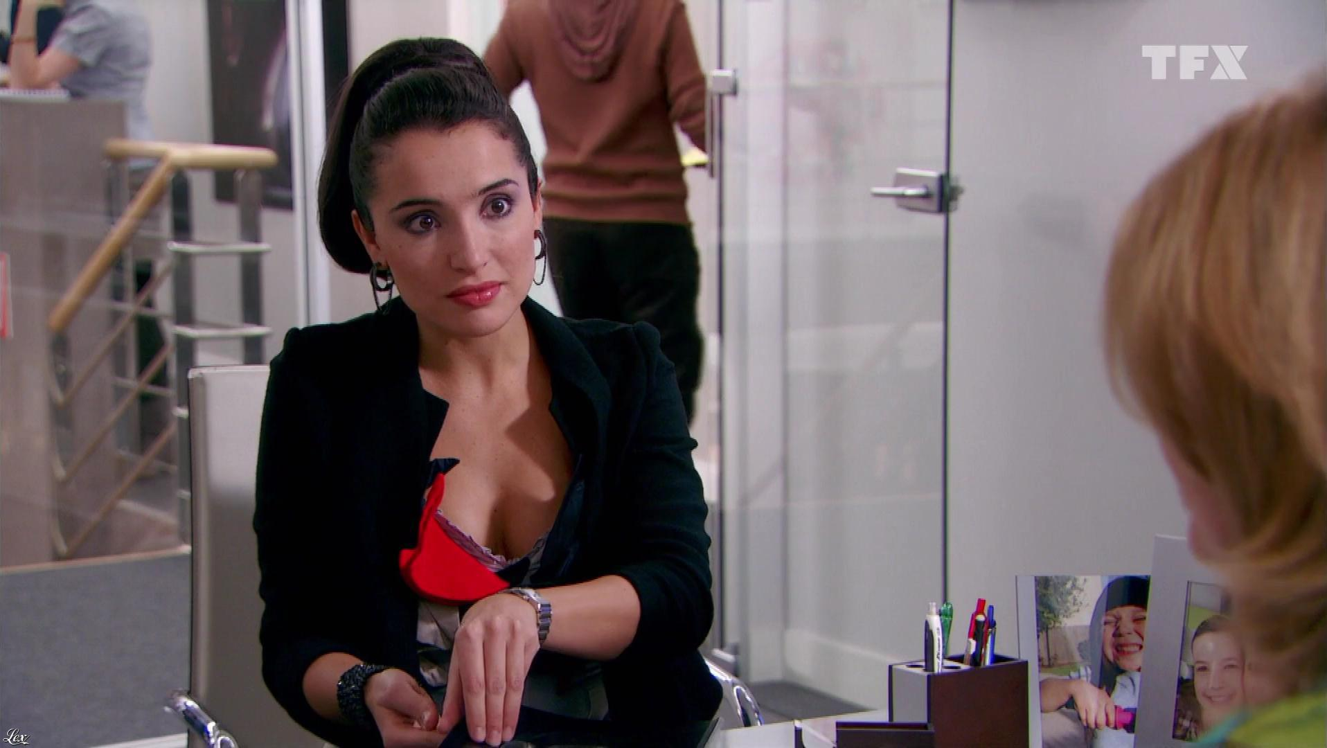 Isabelle Vitari dans Seconde Chance. Diffusé à la télévision le 13/07/18.
