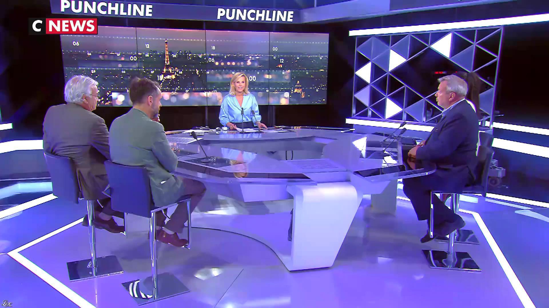 Laurence Ferrari dans Punchline. Diffusé à la télévision le 20/06/18.