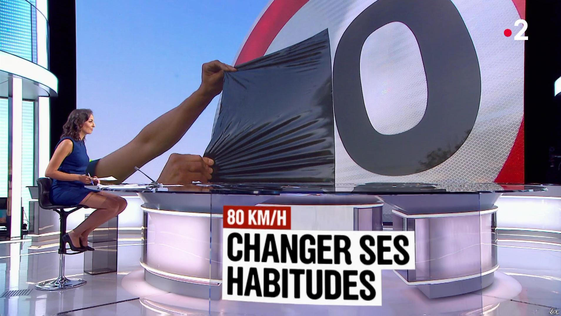 Leïla Kaddour dans le 13h. Diffusé à la télévision le 01/07/18.