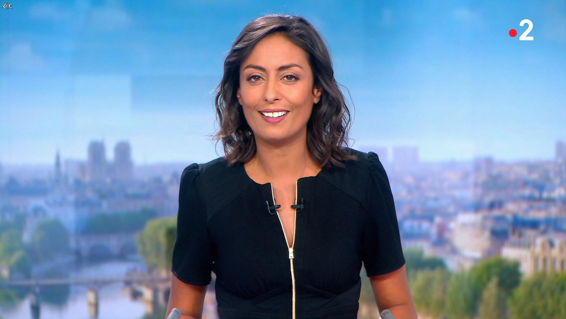 Leïla Kaddour dans le 13h. Diffusé à la télévision le 02/09/18.