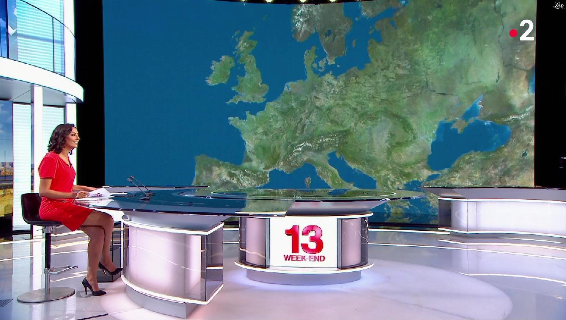 Leïla Kaddour dans le 13h. Diffusé à la télévision le 03/11/18.