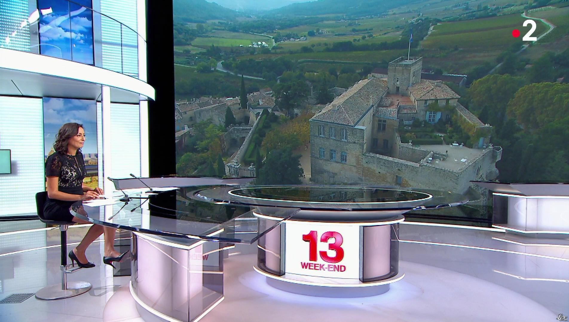 Leïla Kaddour dans le 13h. Diffusé à la télévision le 04/11/18.