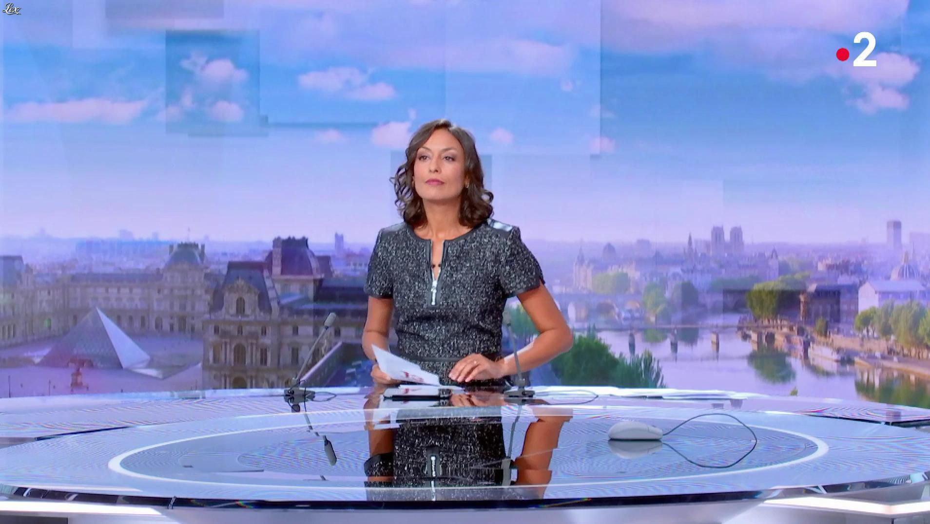 Leïla Kaddour dans le 13h. Diffusé à la télévision le 16/09/18.