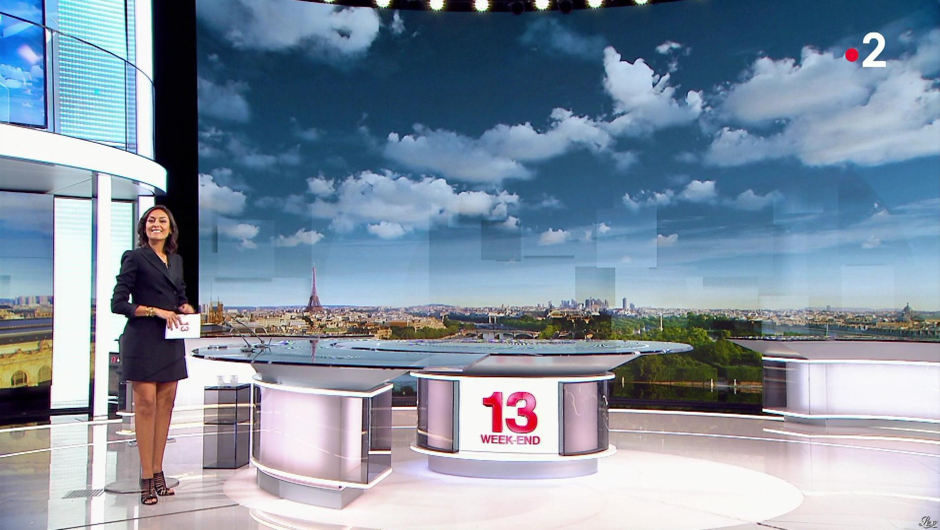 Leïla Kaddour dans le 13h. Diffusé à la télévision le 22/09/18.
