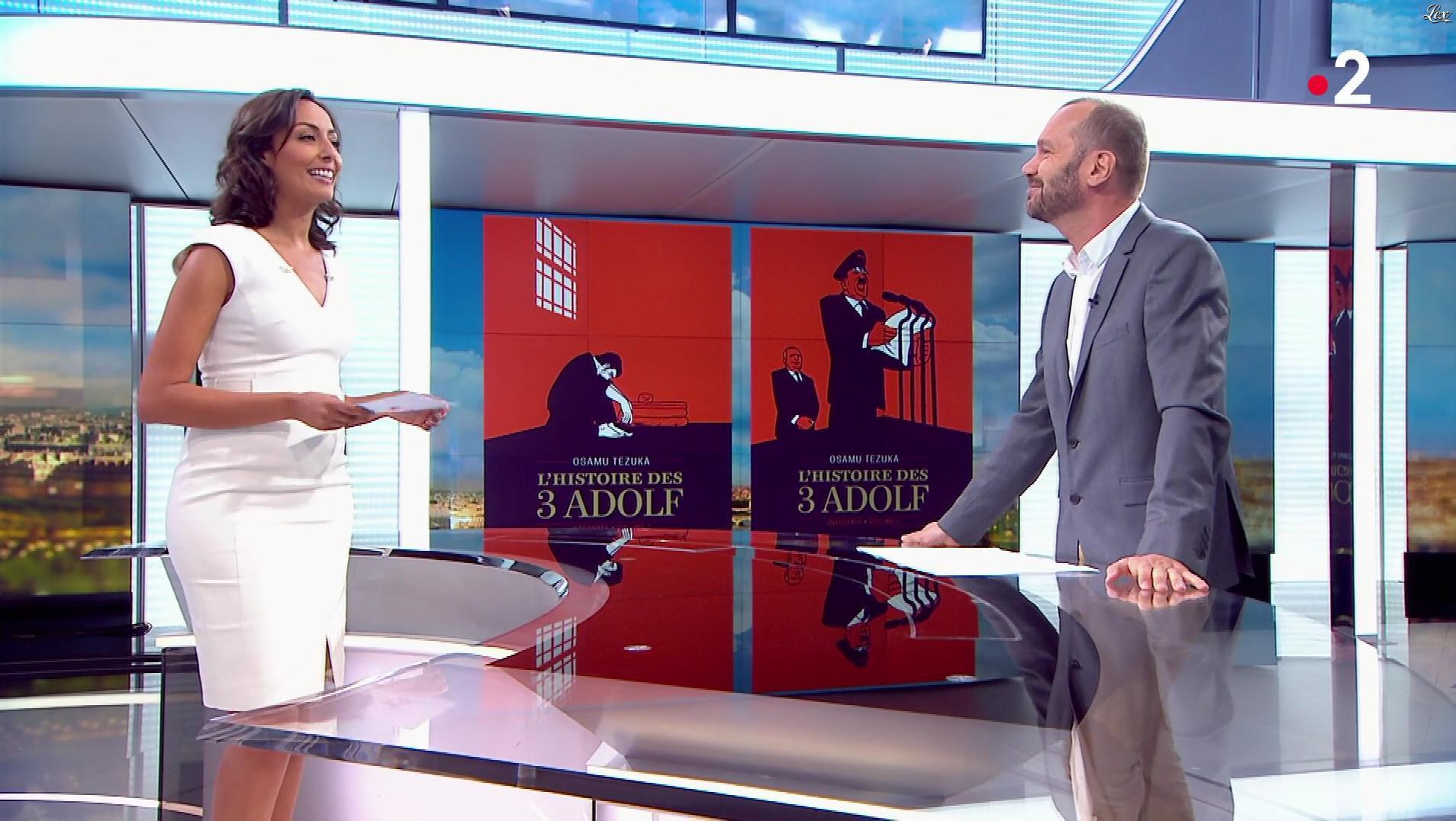 Leïla Kaddour dans le 13h. Diffusé à la télévision le 30/06/18.