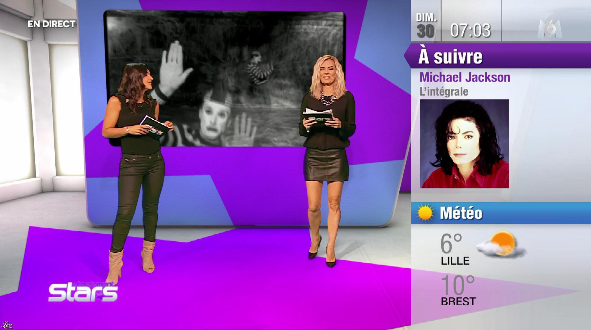 Nancy Sinatra et Claire Nevers dans Absolument Stars. Diffusé à la télévision le 30/09/18.