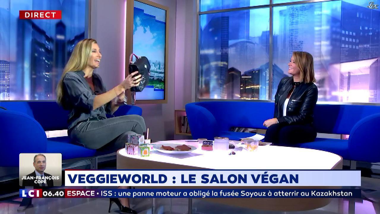 Pascale De La Tour Du Pin dans la Matinale. Diffusé à la télévision le 12/10/18.