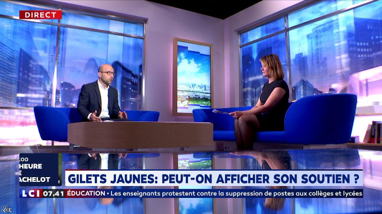 Pascale De La Tour Du Pin dans la Matinale. Diffusé à la télévision le 12/11/18.