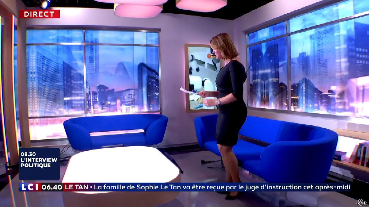 Pascale De La Tour Du Pin dans la Matinale. Diffusé à la télévision le 18/10/18.