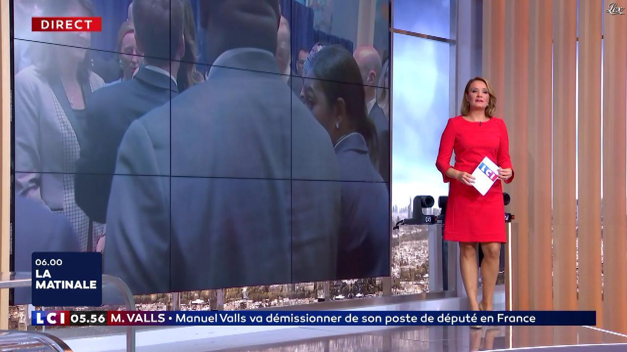 Pascale De La Tour Du Pin dans la Matinale. Diffusé à la télévision le 26/09/18.