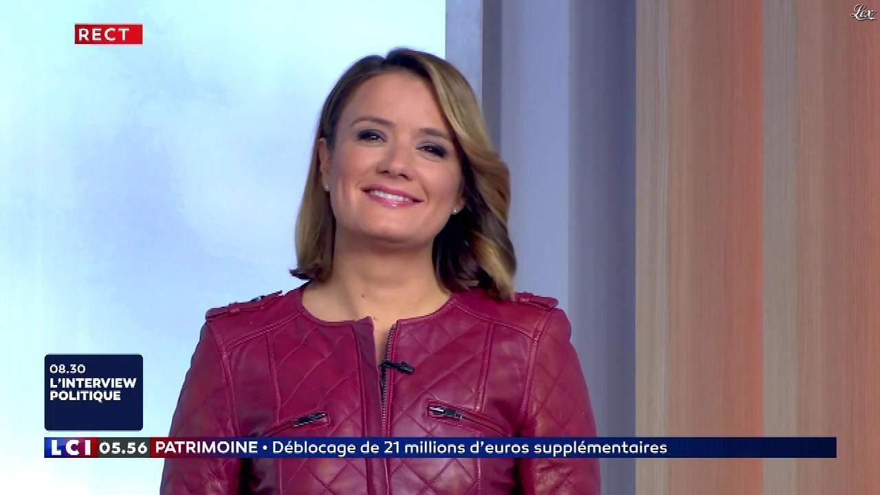 Pascale De La Tour Du Pin dans la Matinale. Diffusé à la télévision le 26/10/18.