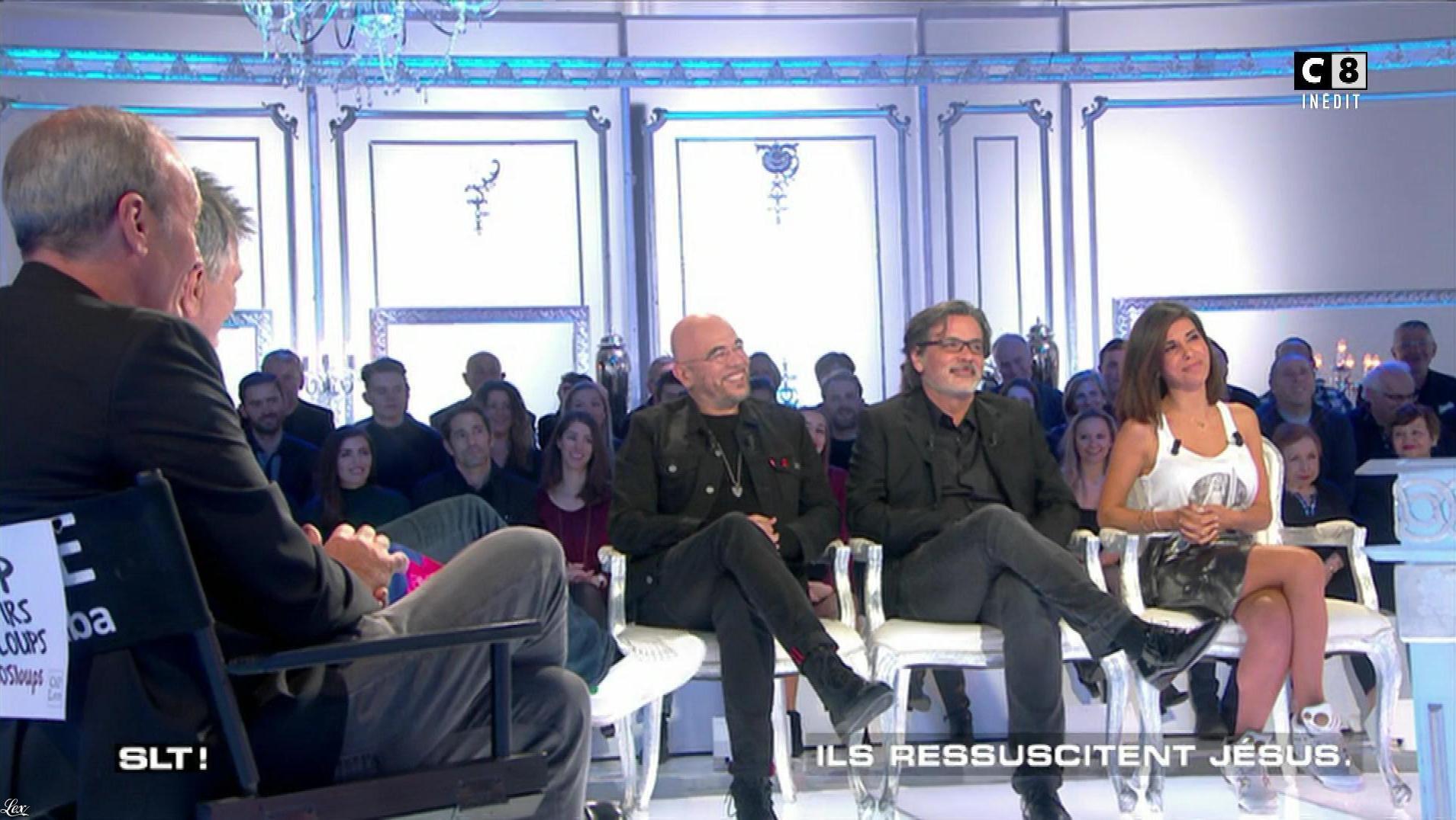 Reem Kherici dans Salut les Terriens. Diffusé à la télévision le 22/04/17.