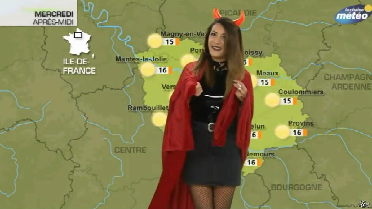 Virgilia Hess dans la Chaine Meteo. Diffusé à la télévision le 31/10/17.