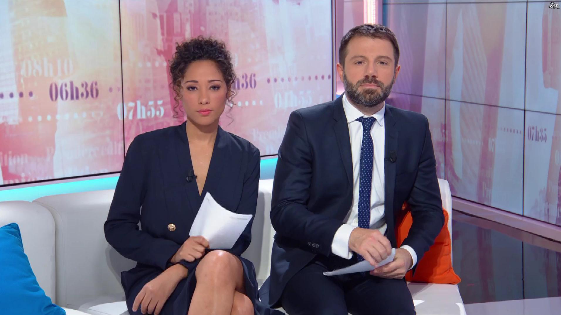 Virginie Sainsily dans Première Edition. Diffusé à la télévision le 05/11/18.