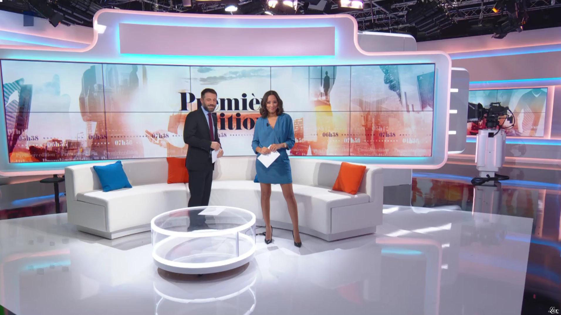 Virginie Sainsily dans Première Edition. Diffusé à la télévision le 22/10/18.