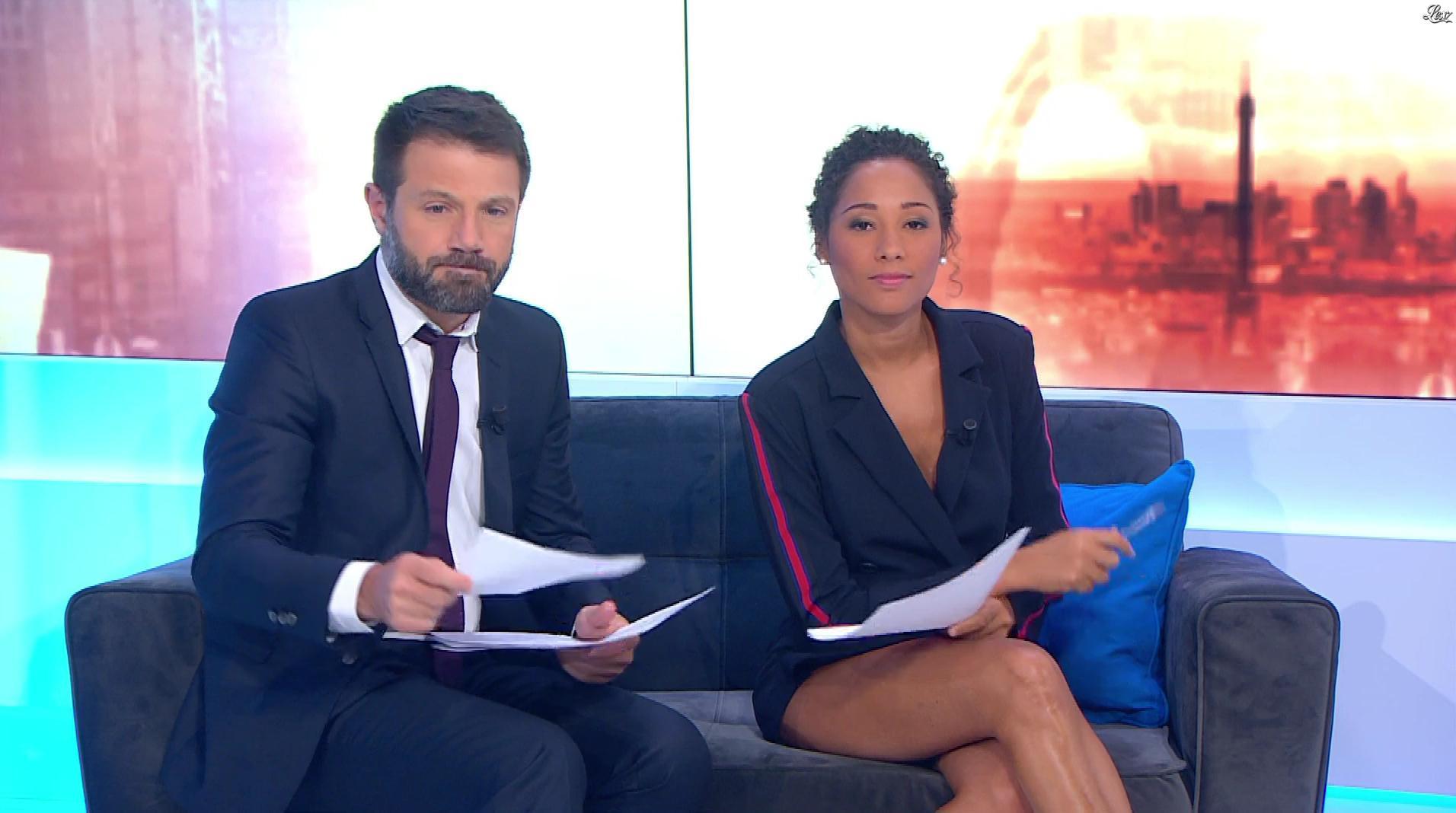 Virginie Sainsily dans Première Edition. Diffusé à la télévision le 31/08/18.