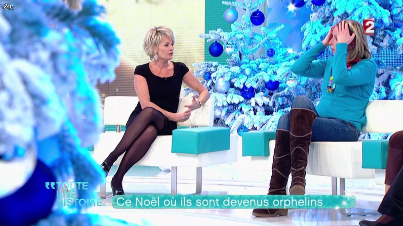 Sophie Davant dans Toute Une Histoire. Diffusé à la télévision le 26/12/11.