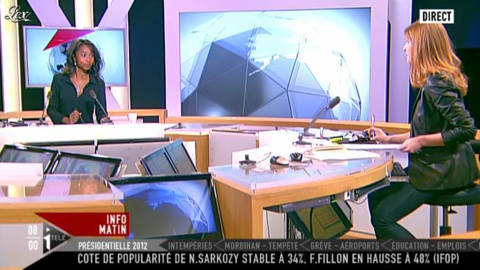 Valérie Amarou sur i-Télé. Diffusé à la télévision le 18/12/11.