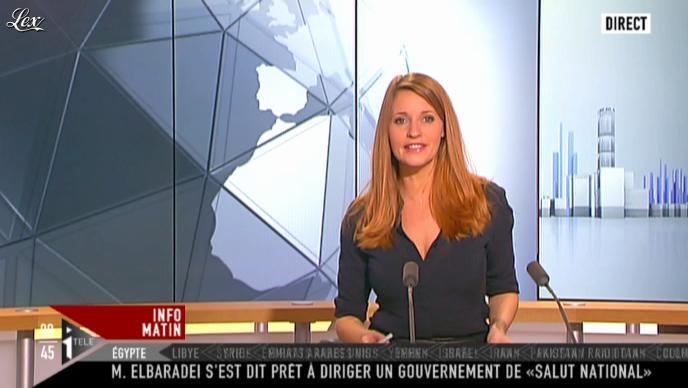 Valérie Amarou sur i-Télé. Diffusé à la télévision le 27/11/11.