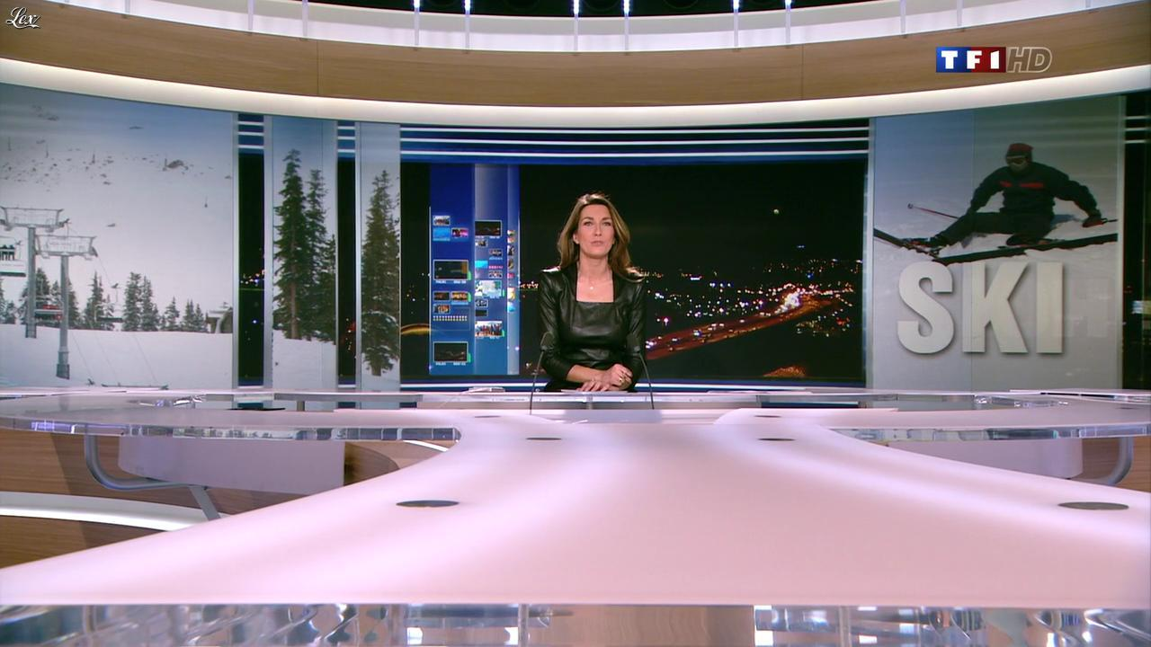 Anne Claire Coudray dans le 20h. Diffusé à la télévision le 30/12/12.