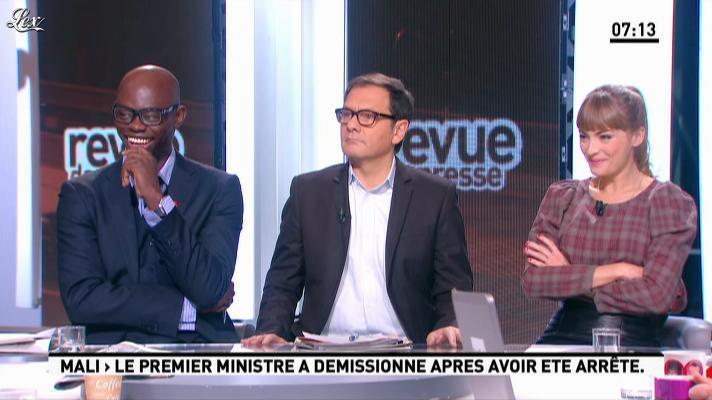Aude Pepin dans la Matinale. Diffusé à la télévision le 11/12/12.