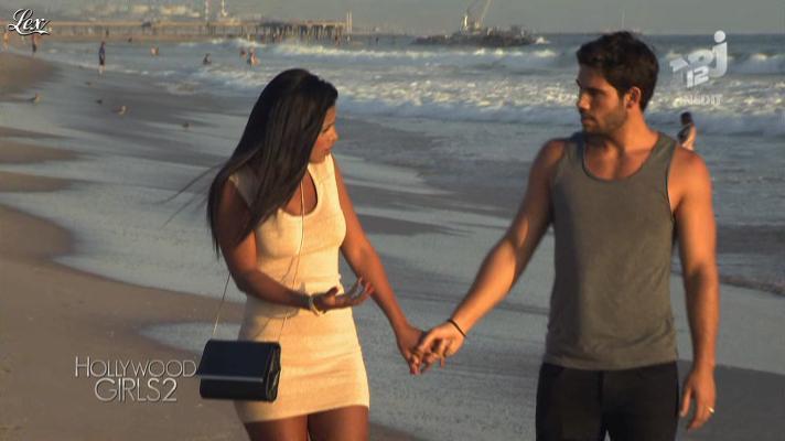 Ayem dans Hollywood Girls. Diffusé à la télévision le 29/10/12.
