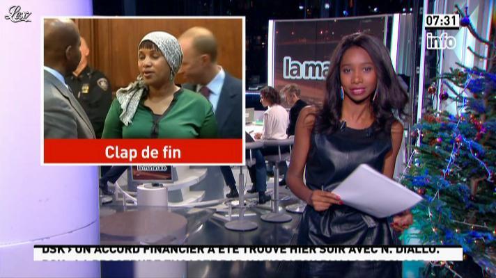 Kady Adoum-Douass dans la Matinale. Diffusé à la télévision le 11/12/12.