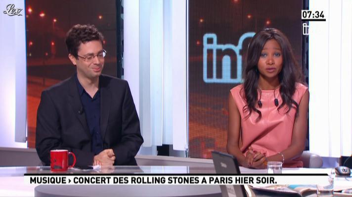 Kady Adoum-Douass dans la Matinale. Diffusé à la télévision le 26/10/12.