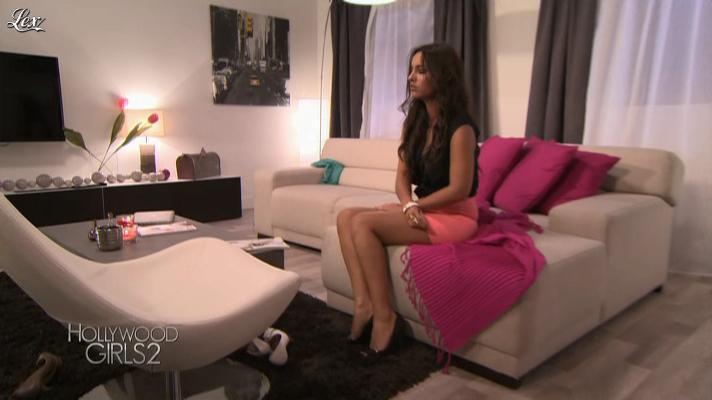 Laura Coll dans Hollywood Girls. Diffusé à la télévision le 25/09/12.