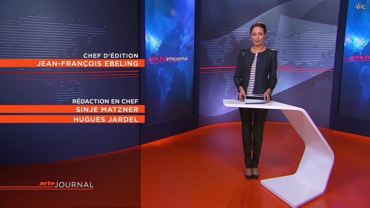 Leïla Kaddour Boudadi dans le Journal d'Arte. Diffusé à la télévision le 02/01/13.